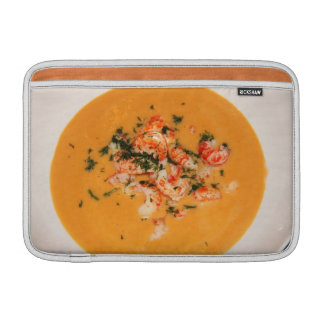 Orange soup MacBook air sleeves