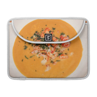 Orange soup sleeve for MacBook pro