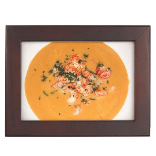Orange soup keepsake box