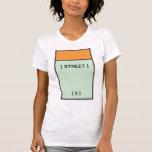 Orange Space Shirt