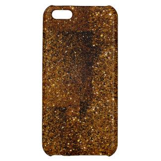 Orange Sparkles Cover For iPhone 5C