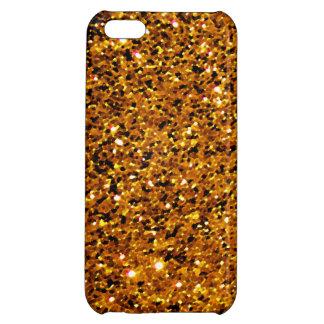 Orange Sparkles iPhone 5C Cover