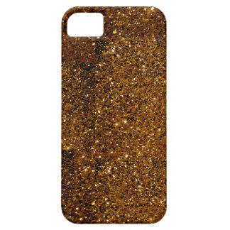 Orange Sparkles iPhone SE/5/5s Case