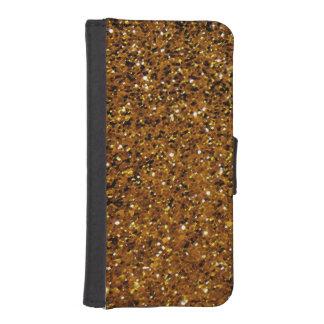 Orange Sparkles iPhone SE/5/5s Wallet