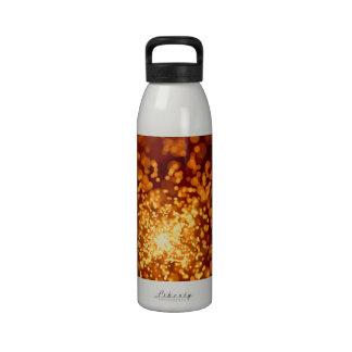 Orange Sparks Water Bottle