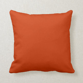 orange spice pillow