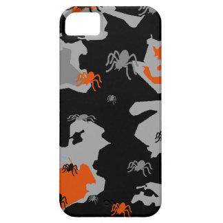 Orange Spider Camo iPhone SE/5/5s Case