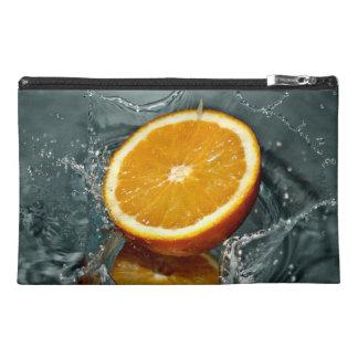 Orange Splash accessory bags