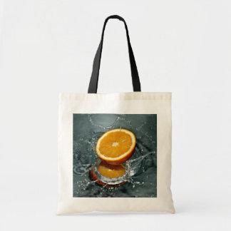 Orange Splash bags