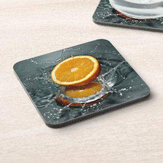 Orange Splash coasters