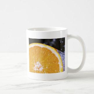 Orange Splash Coffee Mug
