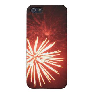 Orange Splash Cover For iPhone SE/5/5s
