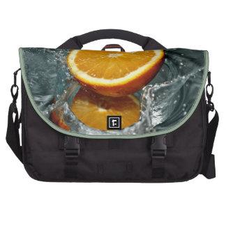Orange Splash laptop bag