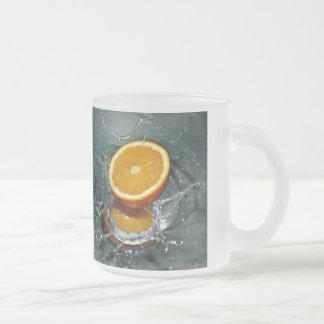 Orange Splash mugs - choose style & color