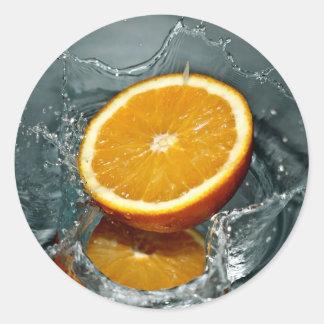 Orange Splash stickers