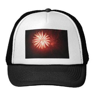 Orange Splash Trucker Hat
