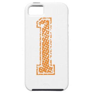 Orange Sports Jerzee Number 01.png iPhone SE/5/5s Case