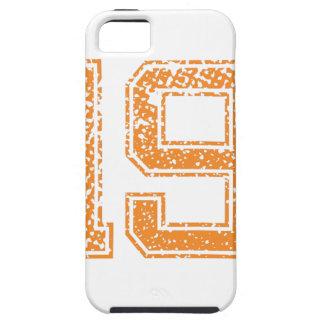 Orange Sports Jerzee Number 19.png iPhone SE/5/5s Case