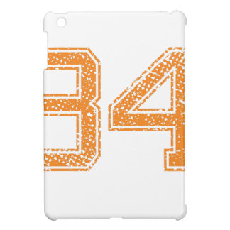 Orange Sports Jerzee Number 34.png iPad Mini Cover