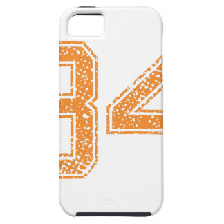 Orange Sports Jerzee Number 34.png iPhone SE/5/5s Case