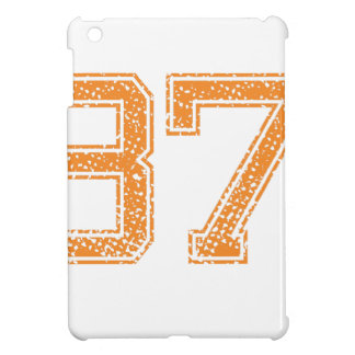 Orange Sports Jerzee Number 37.png iPad Mini Cover