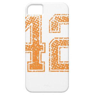 Orange Sports Jerzee Number 42.png iPhone SE/5/5s Case