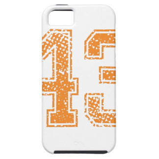 Orange Sports Jerzee Number 43.png iPhone SE/5/5s Case