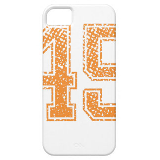 Orange Sports Jerzee Number 45.png iPhone SE/5/5s Case