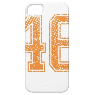 Orange Sports Jerzee Number 46.png iPhone SE/5/5s Case