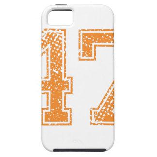 Orange Sports Jerzee Number 47.png iPhone SE/5/5s Case