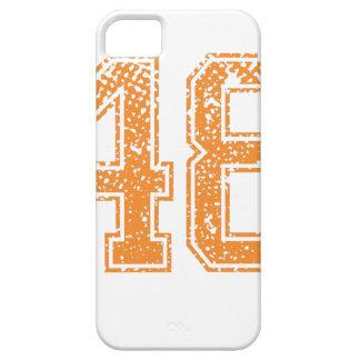 Orange Sports Jerzee Number 48.png iPhone SE/5/5s Case