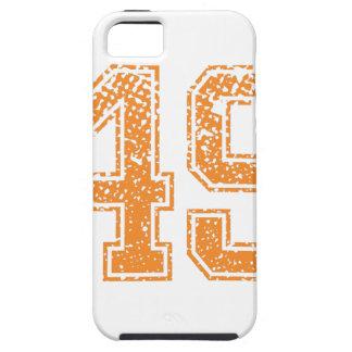 Orange Sports Jerzee Number 49.png iPhone SE/5/5s Case