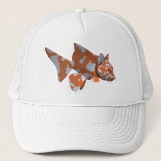 Orange Spotted Catfish Trucker Hat