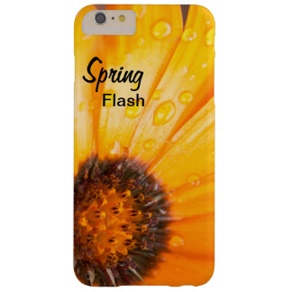 Orange Spring Flash African Daisy Close Up Photo Barely There iPhone 6 Plus Case