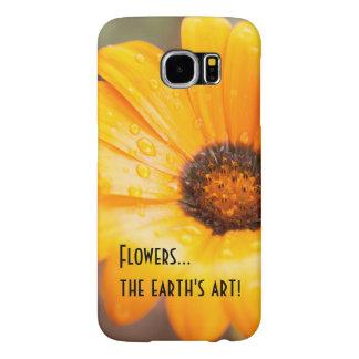 Orange Spring Flash African Daisy Photograph Samsung Galaxy S6 Case