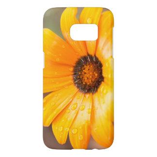 Orange Spring Flash African Daisy Photograph Samsung Galaxy S7 Case