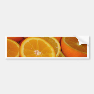Orange Squash Bumper Sticker