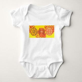 Orange Squash Dance Babygro Baby Bodysuit
