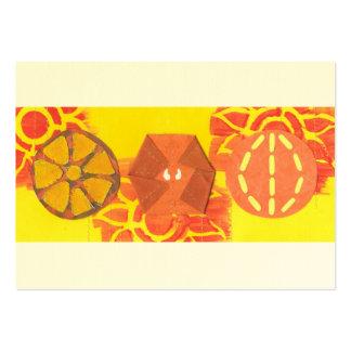 Orange Squash Dance Business Cards