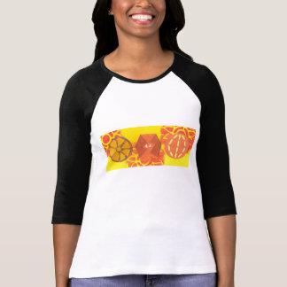 Orange Squash Dance Women's Top Tshirt