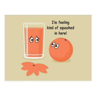 Orange Squash Postcard