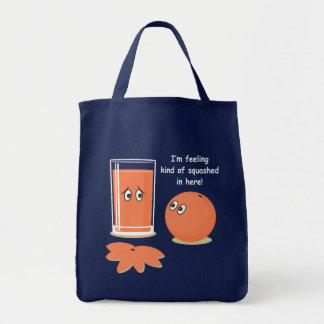 Orange Squash Tote Bag