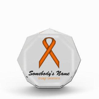 Orange Standard Ribbon Award
