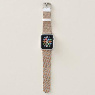 Orange Standard Ribbon by Kenneth Yoncich Apple Watch Band