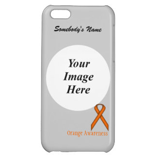 Orange Standard Ribbon by Kenneth Yoncich Case For iPhone 5C