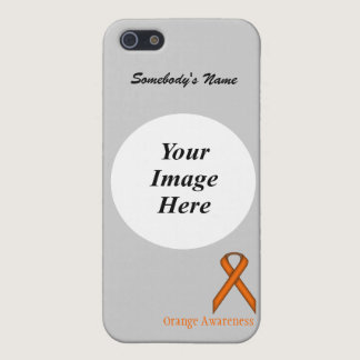 Orange Standard Ribbon by Kenneth Yoncich Case For iPhone SE/5/5s