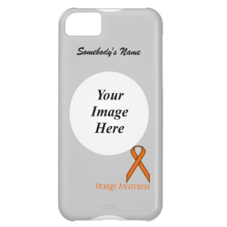 Orange Standard Ribbon by Kenneth Yoncich Cover For iPhone 5C