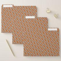 Orange Standard Ribbon by Kenneth Yoncich File Folder