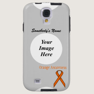 Orange Standard Ribbon by Kenneth Yoncich Galaxy S4 Case