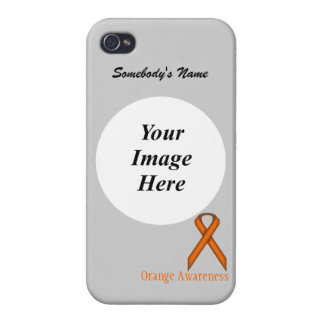 Orange Standard Ribbon by Kenneth Yoncich iPhone 4/4S Covers